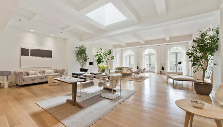 Foto: 17 miljonus eiro vērts dzīvoklis, ko izvēlējusies Dženifera Lopesa