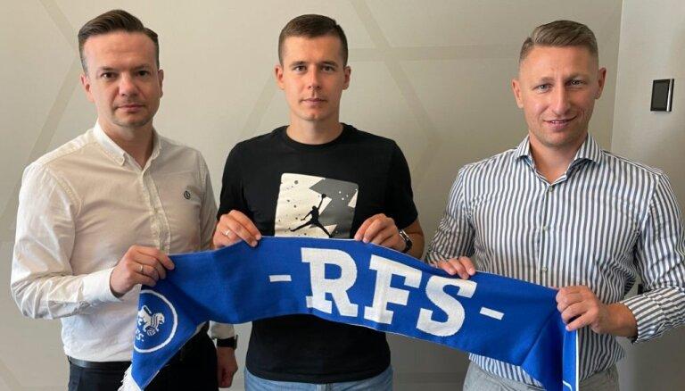 RFS sastāvu papildina ar Igaunijas izlases aizsargu Arturu Piku