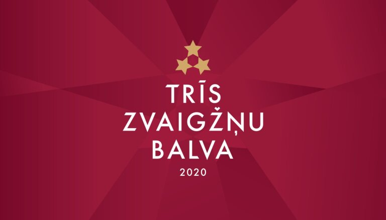 Paziņoti nominanti 'Trīs Zvaigžņu balvai'; sācies tautas balsojums