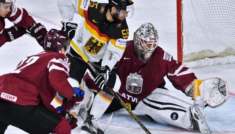 Хоккеисты Латвии упустили победу над Германией и остались без четвертьфинала