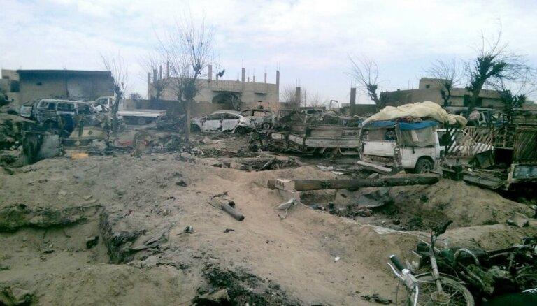 Pēdējie 'Daesh' kaujinieki krīt tūkstošiem, liecinot soctīklu ieraksti