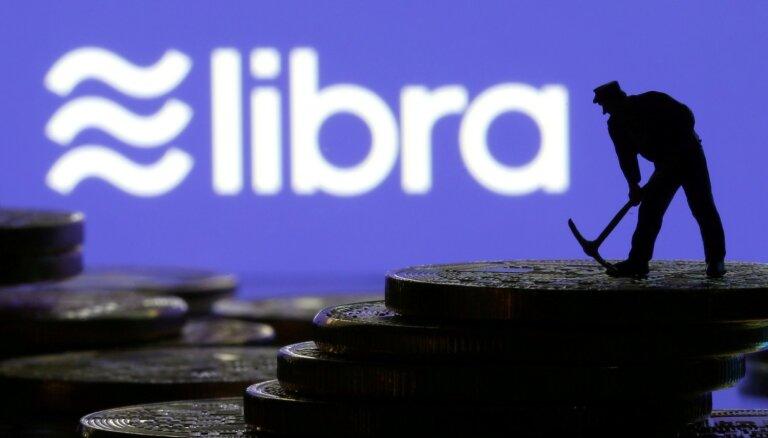 'Libra' digitālajai valūtai Eiropā var būt sistēmiska ietekme, brīdina Dombrovskis