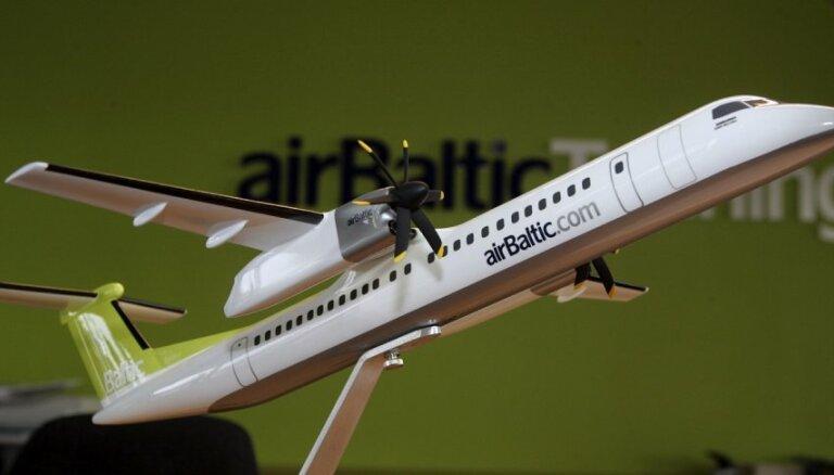 Uzņēmumu reģistrs atsaka reģistrēt 'airBaltic' 47,2% akciju apķīlāšanu