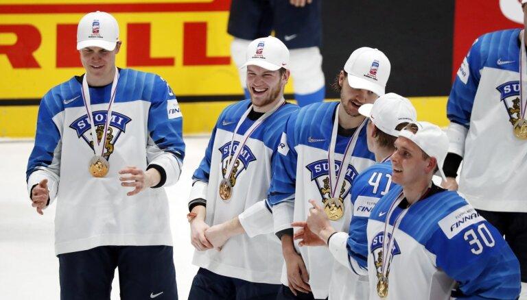Somijas izlases treneris: pierādījām, ka arī Eiropā spēlējošie hokejisti ir labi