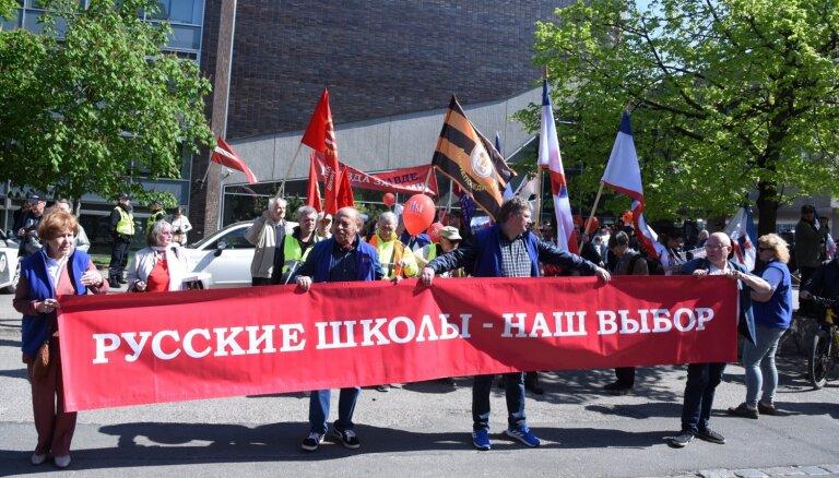 Защитники русских школ снова выйдут на улицы с протестом