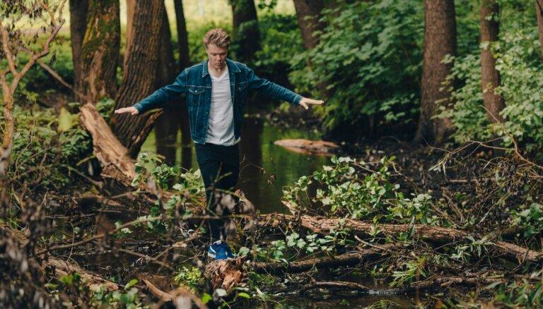 Томс Гревиньш знакомится с экологической возможностью активного отдыха