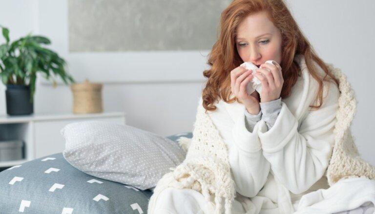 Padomu ābece sevis pasargāšanai no gripas un ātrākai atlabšanai