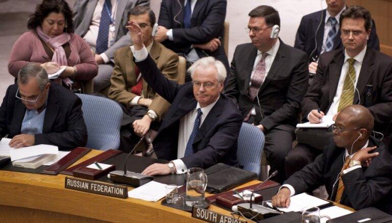 Совбез ООН: Россия и Китай блокировали резолюцию по Сирии