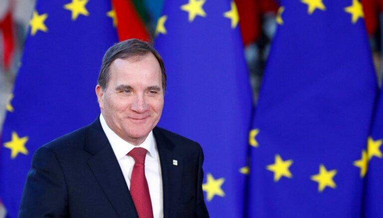 Zviedrijas parlaments uz otro termiņu premjera amatā apstiprina Levēnu