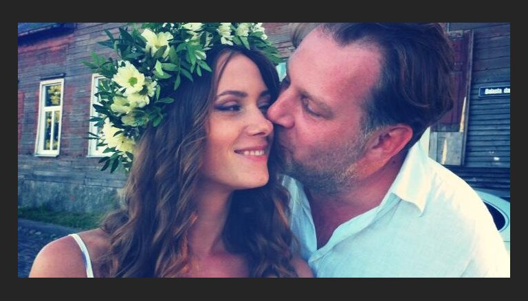 Алекс Дубас женился в Риге