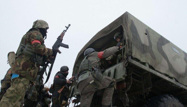 Kaujā Donbasa reģionā krituši četri ukraiņu karavīri