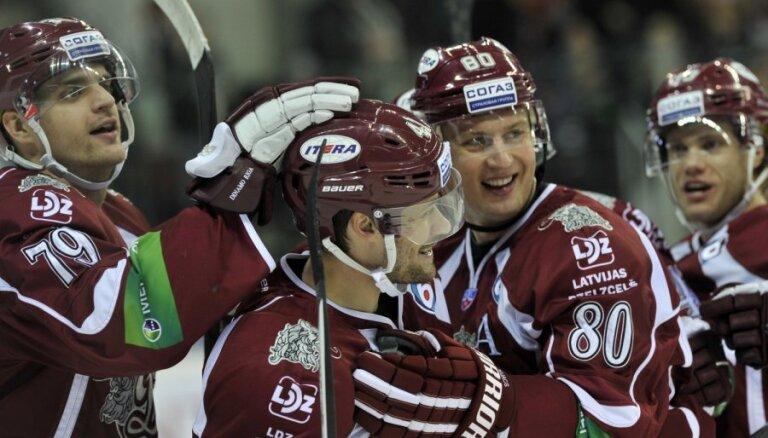 Video: Rīgas 'Dinamo' laukumā dominē un pieveic 'Amur'