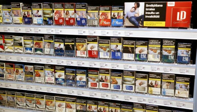 VID: из Латвии стали вывозить больше сигарет и курительного табака