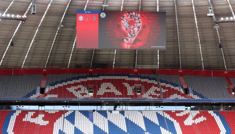 'Bayern' 30. reizi kluba vēsturē triumfē Vācijas bundeslīgas čempionātā