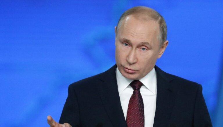 """Путин указал США и """"подхрюкивающим сателлитам"""" на нарушения договора РСМД"""