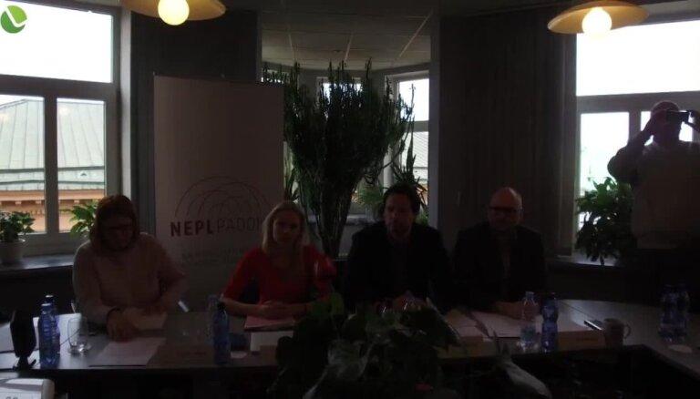 Informē par jauno Latvijas Televīzijas valdi