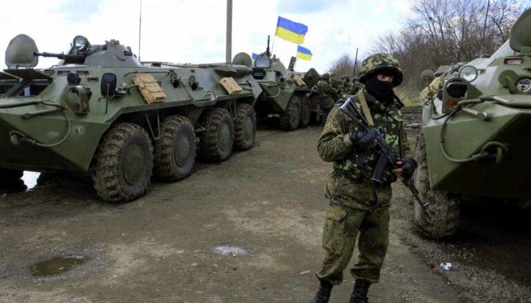 Ukrainā cīņā ar separātistiem gājis bojā Latvijas pilsonis