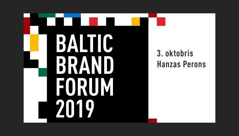 Oktobrī Rīgā notiks pirmais Baltijas Zīmolu forums