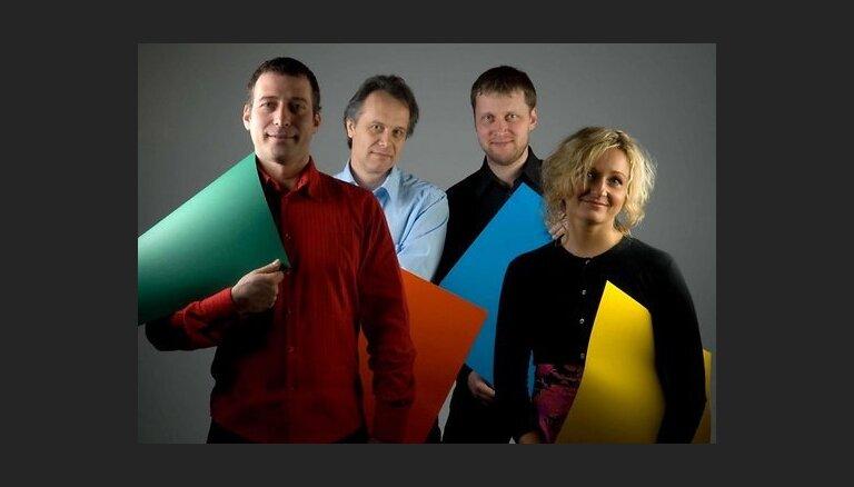 Festivālā 'Eiropas Ziemassvētki' - klavieru kvarteta 'Rix' koncerts 'Ziemassvētki sveču gaismā'