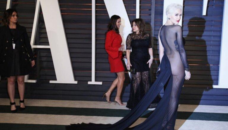 ФОТО: Самые лучшие и провокационные платья церемонии Оскар — 2015