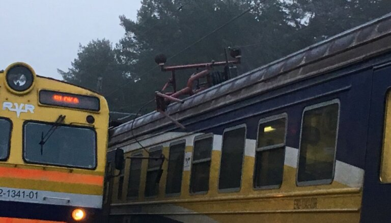 Возобновлено движение поездов на участке Слока — Дубулты