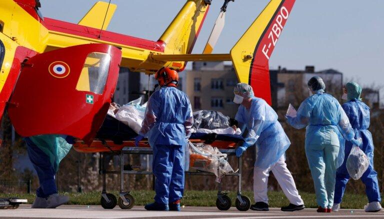 Pasaulē Covid-19 upuru skaits pārsniedz 35 000