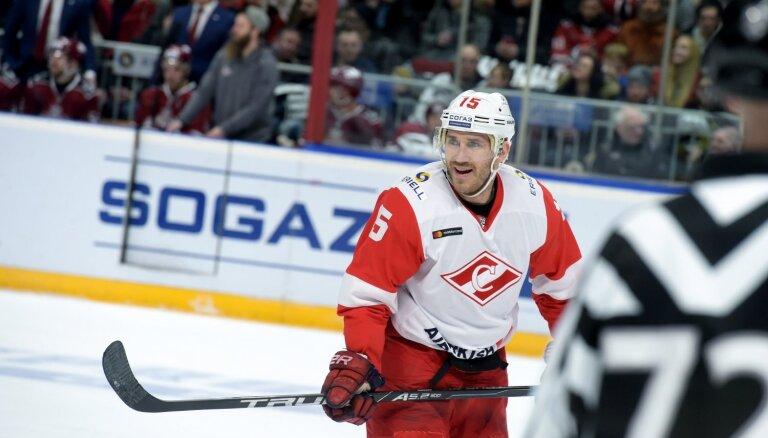 Daugaviņa un Karsuma pārstāvētā 'Spartak' nenosargā divu vārtu pārsvaru un atkal zaudē