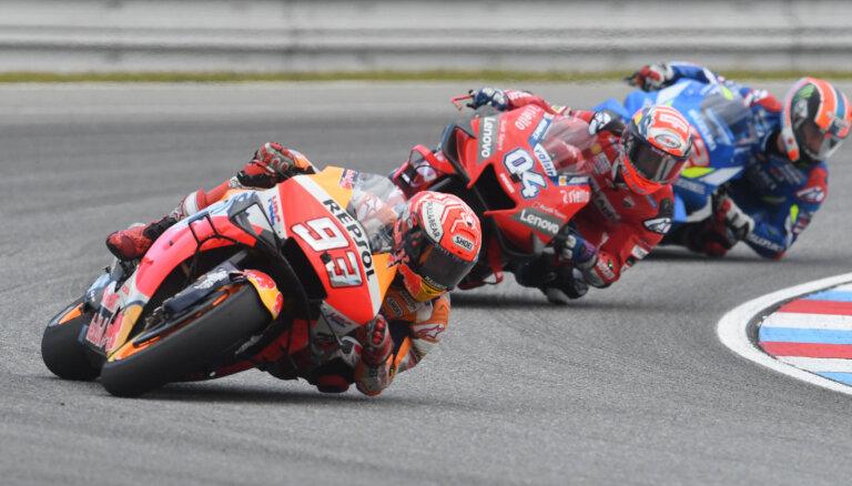 Atcelts 'MotoGP' posms Mudžello trasē
