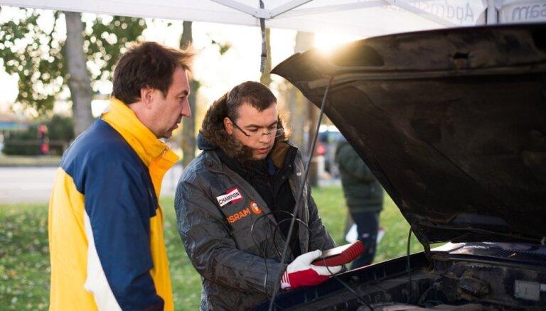 Kampaņā 'Pārsteidz ziemu!' jau ceturto gadu piedāvās bez maksas pārbaudīt auto pirms ziemas