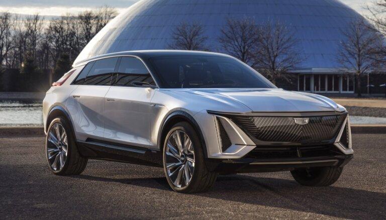 'Cadillac' savu pirmo elektrisko apvidnieku tirgos lētāk nekā 'Audi' un 'Tesla'