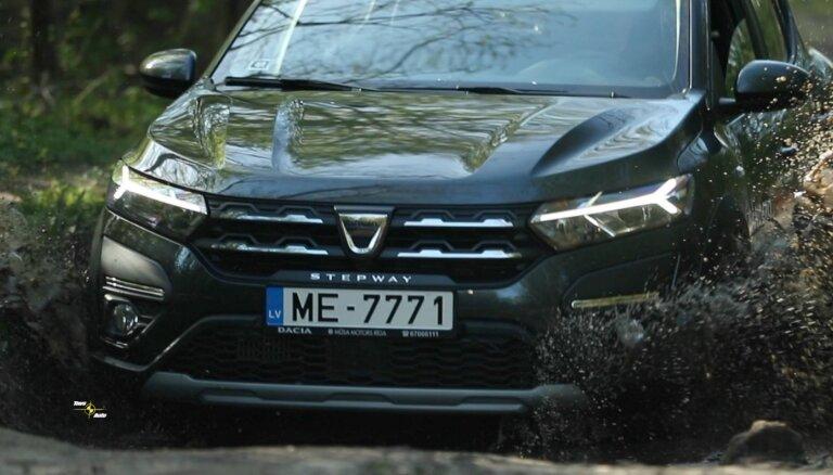 Video: Andris Štāls izmēģina 'Dacia Sandero Stepway'