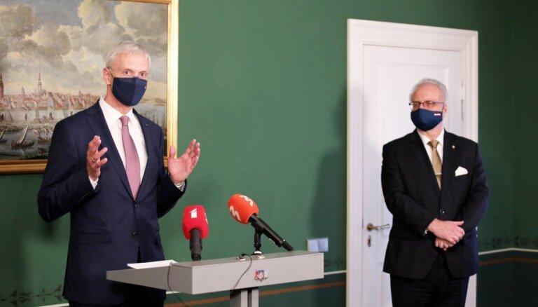 Президент: правительство Кариньша себя еще не исчерпало