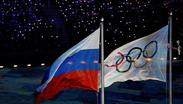 Krievijas diskvalifikācija, boikoti un citas krīzes olimpisko spēļu vēsturē