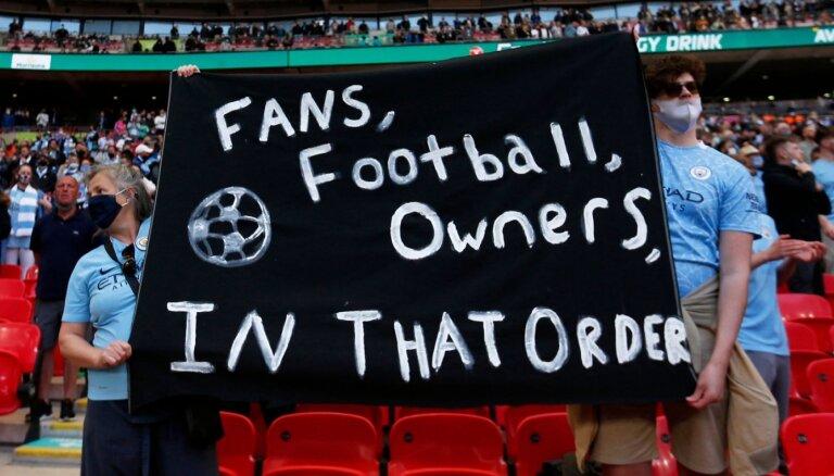 Eiropas Superlīga – futbola ambīciju izgāšanās vai pauze pirms pārmaiņām?