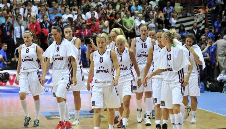 Latvijas sieviešu basketbola izlases mačā Tallinā piedalīsies arī Jākobsone un Vītola