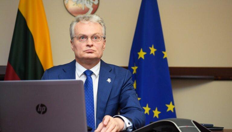 Nausēda ar Latvijas un Igaunijas kolēģiem netiekas Baltkrievijas AES jautājuma dēļ