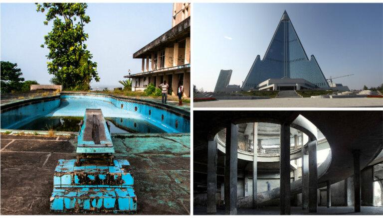 7 grandiozas viesnīcas, kas tagad ir bezpajumtnieku un spoku paradīze