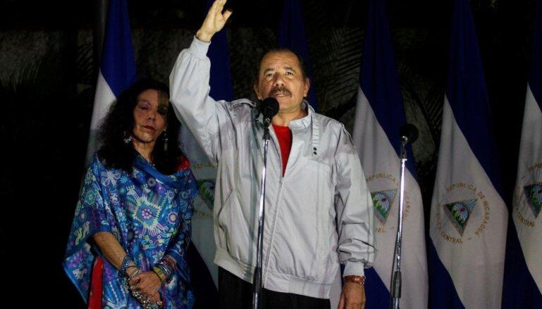 Бывший марксист Ортега вновь переизбран президентом Никарагуа
