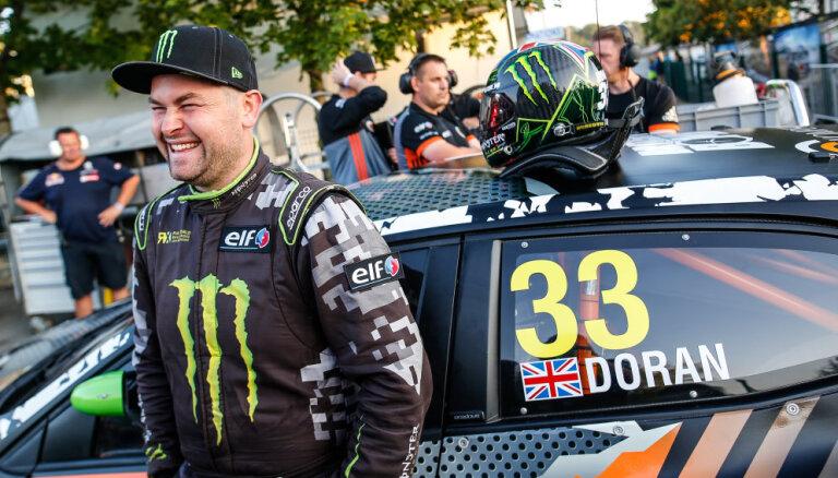 Vakanto pilota vietu 'GCK' komandā uz Latvijas 'World RX' posmu aizņem brits Dorans