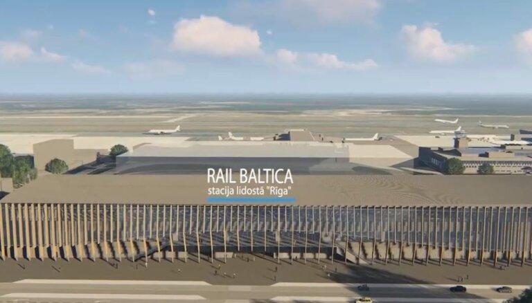 На участке Rail Baltica от ул. Золитудес до Рижского аэропорта вырубят 410 деревьев