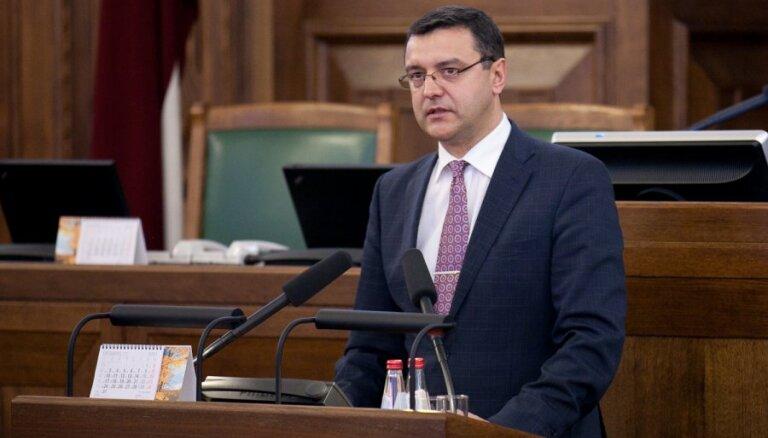 Reirs: Krājbankas krīzes izmeklēšana parlamentā nav nepieciešama