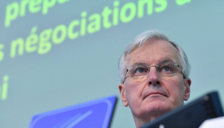 Lielbritānijai būs jāmaksā 'izstāšanās rēķins' arī bezvienošanās 'Brexit' gadījumā, paziņo Barnjē