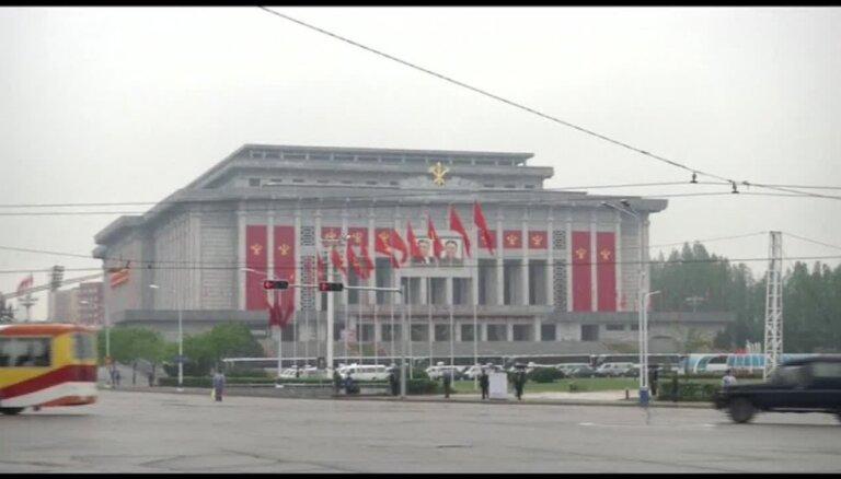 Ziemeļkorejā pirmo reizi kopš 1980. atklāj valdošās partijas kongresu