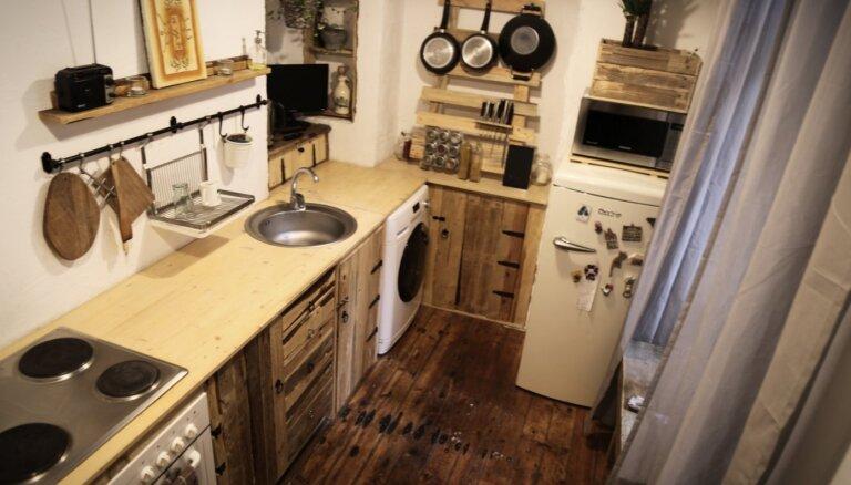 Foto: Stilīgs virtuves remonts par nieka 30 eiro