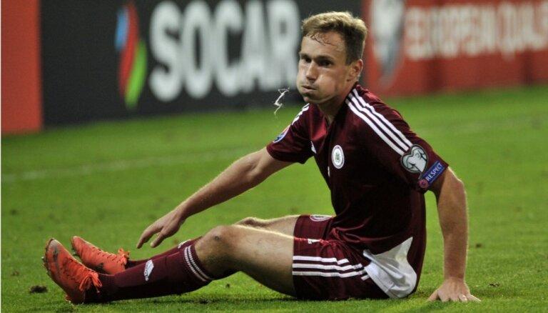 Латвия вылетела из сотни рейтинга ФИФА