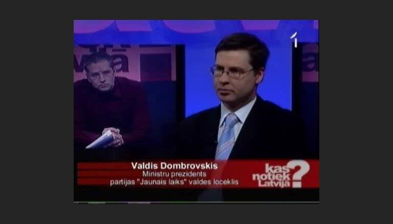 Dombrovskis: par ko vienojāmies, lielā mērā esam izdarījuši