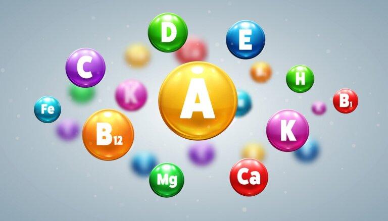 Vitamīni un minerālvielas. Kā organismam visbiežāk pietrūkst?