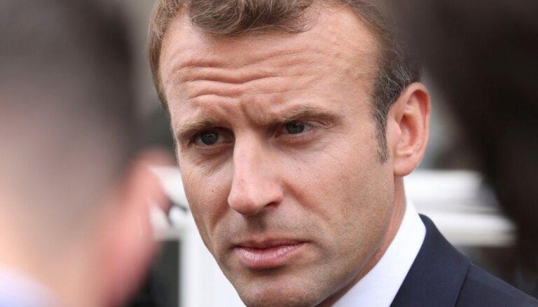 Макрон требует санкций против не принимающих беженцев стран ЕС