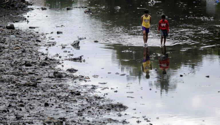 Filipīnās Taala vulkāna dēļ evakuēti vairāk nekā 162 000 cilvēku