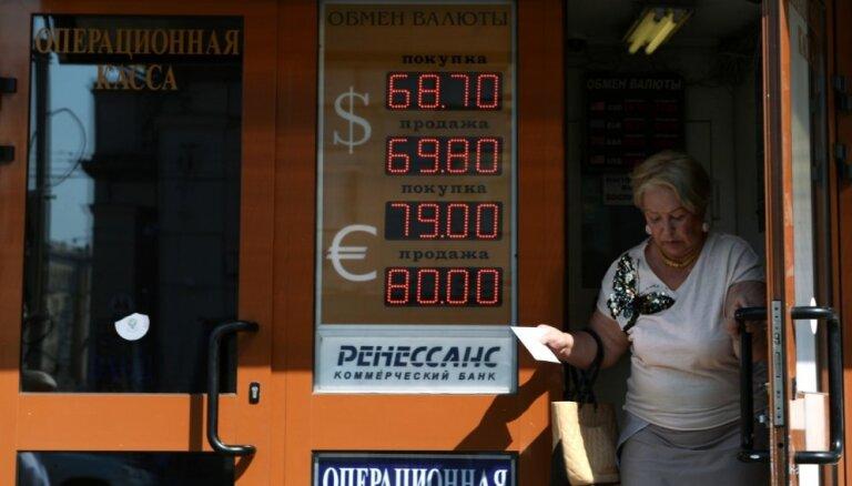Cik tuvu bezdibenim ir Krievijas ekonomika?